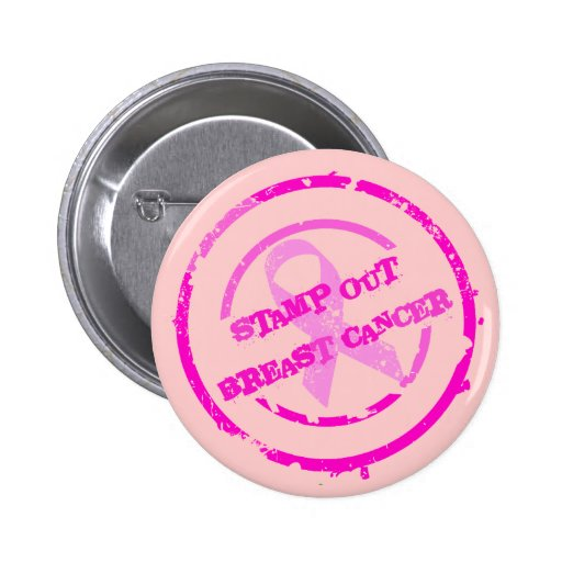 STAMP OUT BREAST CANCER BUTTONS