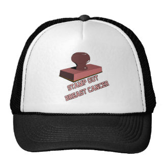 Stamp Out Breast Cancer Hat