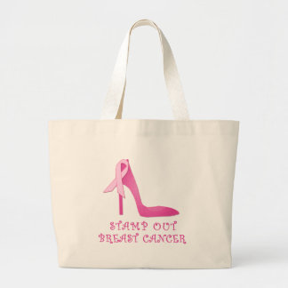 Stamp Out Breast Cancer Products Jumbo Tote Bag