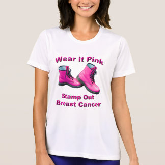 Stamp Out Breast Cancer Women's T-Shirt