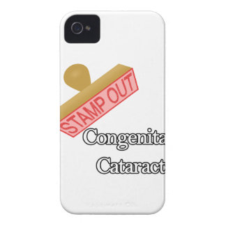 Stamp Out Congenital Cataracts iPhone 4 Cases