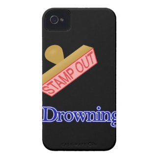Stamp Out Drowning iPhone 4 Case-Mate Cases