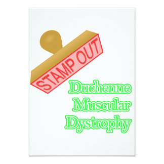 Stamp Out  Duchenne Muscular Dystrophy Card