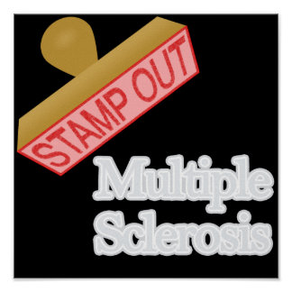 Stamp Out Multiple Sclerosis Posters
