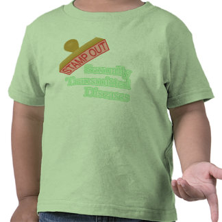 Stamp Out Sexually Transmitted Diseases T-shirt