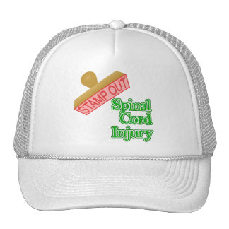 Stamp Out Spinal Cord Injury - Green Mesh Hat