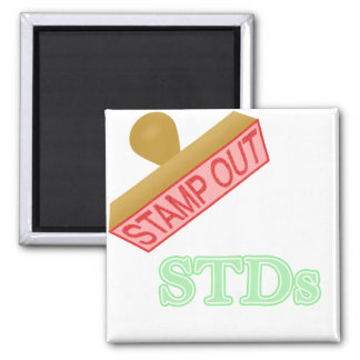 Stamp Out STDs Magnets