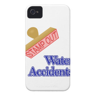 Stamp Out Water Accidents Case-Mate iPhone 4 Case