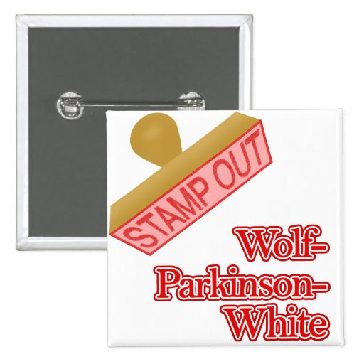 Stamp Out Wolf-Parkinson-White Pins