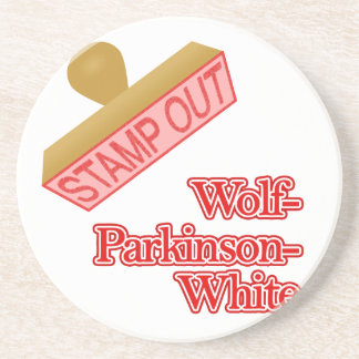 Stamp Out Wolf-Parkinson-White Drink Coaster