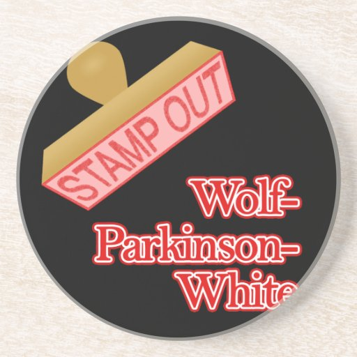 Stamp Out Wolf-Parkinson-White Coasters