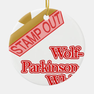 Stamp Out Wolf-Parkinson-White Ornament