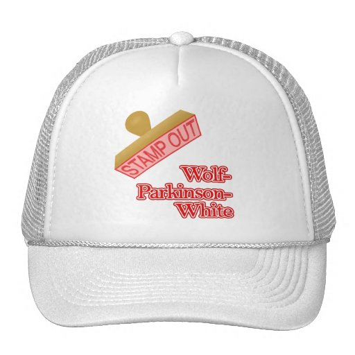Stamp Out Wolf-Parkinson-White Mesh Hats