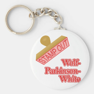 Stamp Out Wolf-Parkinson-White Key Chain