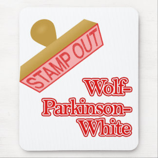 Stamp Out Wolf-Parkinson-White Mouse Pad