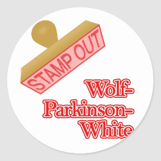 Stamp Out Wolf-Parkinson-White Stickers