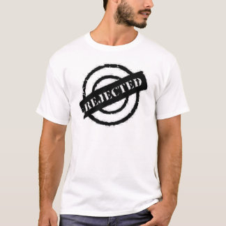 stamp rejected black T-Shirt