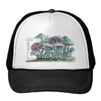 Stamp T-shirt Maldives_mushroom Hat