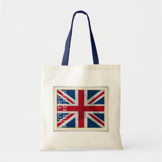 Stamp United Kingdom Canvas Bag