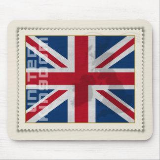 Stamp United Kingdom Mouse Pad