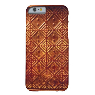Stamped Aged Copper Pattern Iphone 6 Case