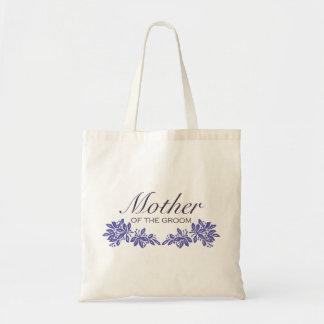 Stamped Floral Wedding Design Budget Tote Bag