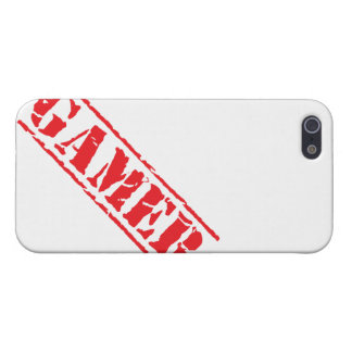Stamped Gamer Cover For iPhone 5/5S