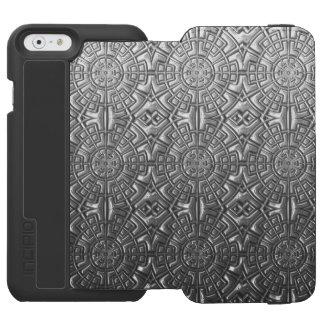 Stamped Metal iPhone Case Incipio Watson™ iPhone 6 Wallet Case