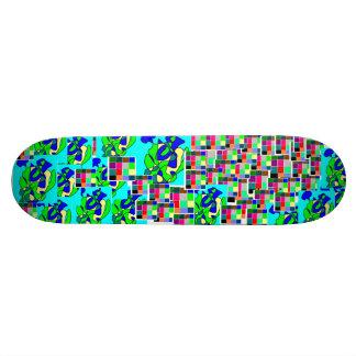 Stamped Skateboard Deck