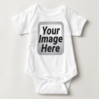 Stamped Star Baby Bodysuit