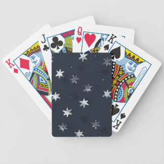 Stamped Star Bicycle Playing Cards