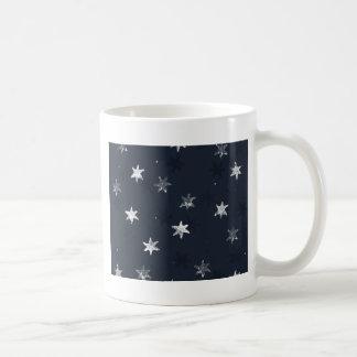 Stamped Star Coffee Mug