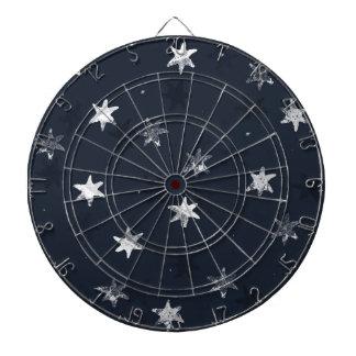 Stamped Star Dartboard