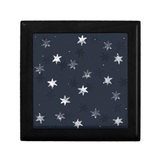 Stamped Star Gift Box