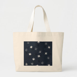 Stamped Star Large Tote Bag