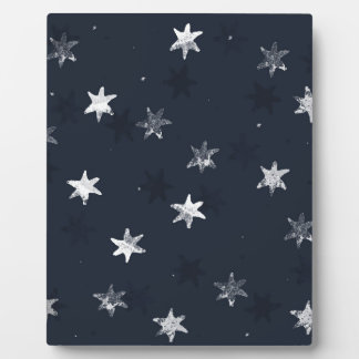 Stamped Star Plaque