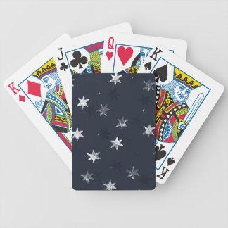 Stamped Star Poker Deck