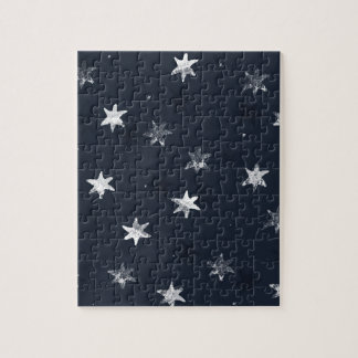 Stamped Star Puzzle