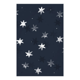 Stamped Star Stationery
