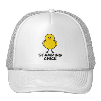 Stamping Chick Hats