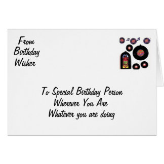 STAMPLED BIRTHDAY FUN GREETING CARD
