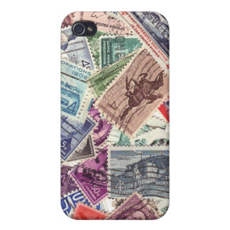 Stamps are fun iPhone 4/4S cases