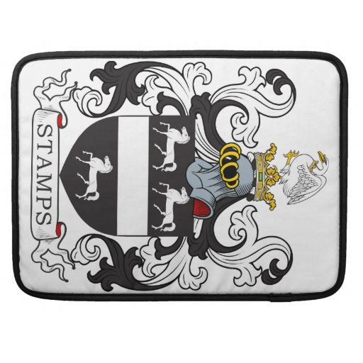 Stamps Family Crest Sleeves For MacBooks