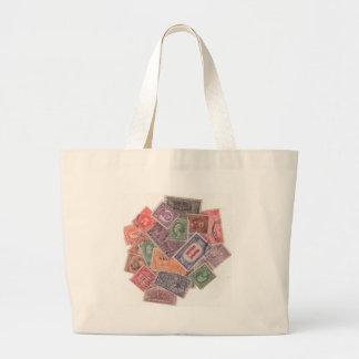 Stamps on a Bag! Jumbo Tote Bag