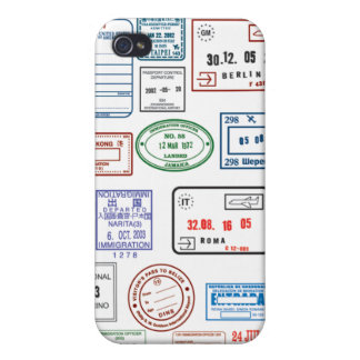Stamps & Seals Cases For iPhone 4