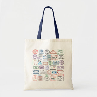Stamps & Seals Budget Tote Bag