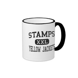 Stamps - Yellow Jackets - High - Stamps Arkansas Coffee Mugs