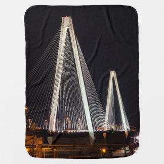 Stan Musial Veterans Bridge Baby Blanket