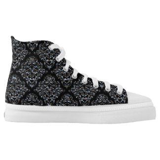 Stanbury Elegant Damask Pattern Printed Shoes