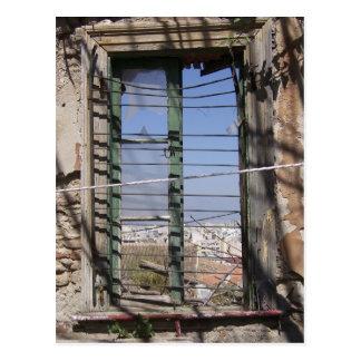 Stand Alone Window Postcard